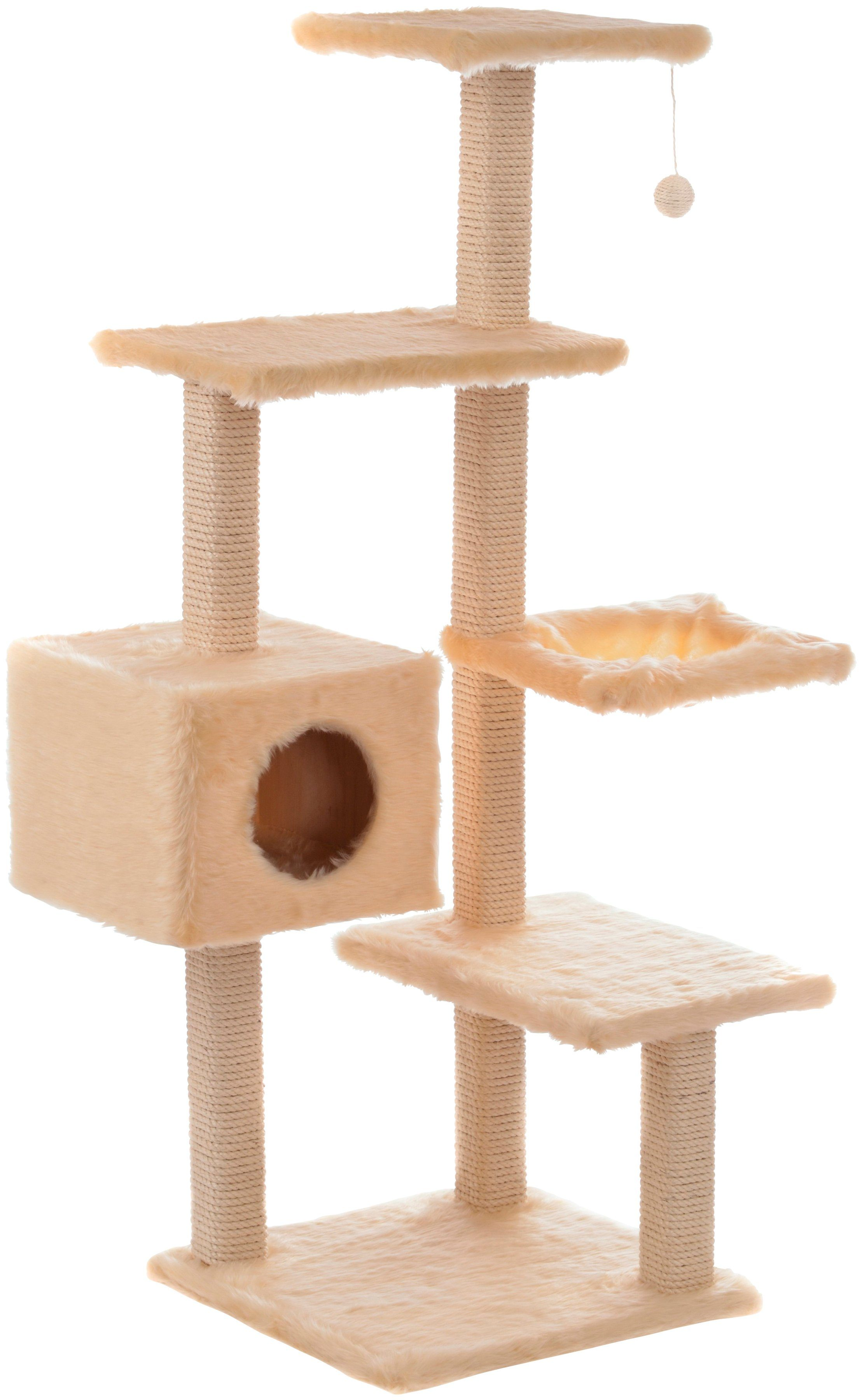CAT DREAM Kratzbaum »Stufen-Kratzboy«, B/T/H: 70/45/130 cm, beige